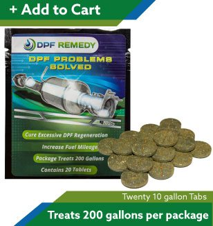 DPF Remedy 10 Gallon tablets